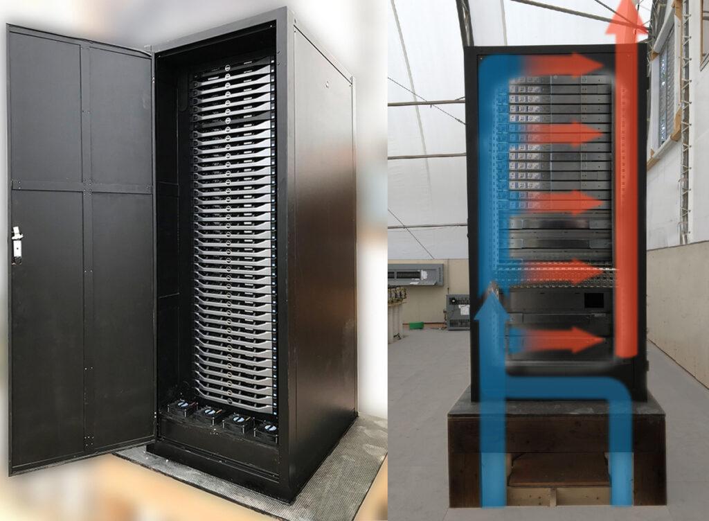 Negative pressure cabinet